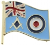 UK RAF Masonic Pin