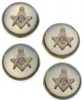 Square & Compass Button Covers Set Model # 361260