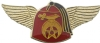 Winged Fez Shriners Pin