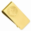 Gold Plated Money Clip Model # 361450