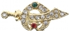 Jeweled Shriners Pin