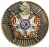 Order of DeMolay Lapel Pin