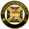 Knights Templar Cut Out Auto Emblem Model # 361885