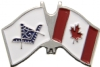 Canadian Mason Flag Pin