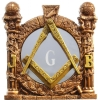 Masonic Pillars Desk Ornament Model # 361964