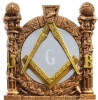 Masonic Mirror Wall Art Model # 361968