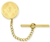 Gold-Plated With Chain Masonic Tie Tack Model # 362102