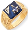 14k Gold Diamond Masonic Ring Model # 362126