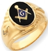 14k Gold Masonic Ring Model # 362146