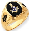 14k Gold Masonic Ring Model # 362148
