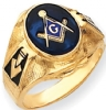 14k Gold Masonic Ring Model # 362154