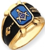14k Gold Masonic Ring Model # 362155