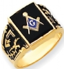 14k Gold Masonic RIng Model # 362167