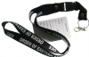 Black Eastern Star Lanyard Keychain Model # 362185