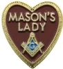 Masons Lady Pin