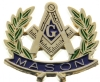 Mason Wreath Pin
