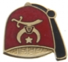 10k Gold Shriners Fez Pin