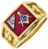 Jeweled Master Mason Ring Model # 362285