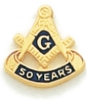 50 Year Membership Lapel Pin