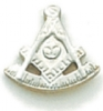 Past Master Lapel Pin