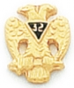 Scottish Rite Lapel Pin Model # 362370