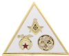 Shriners / York Rite Pin