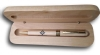 Wood Square & Compass Pen with Presentation Box Model # 363962