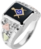 Black Hills Gold Freemason Ring Model # 363969